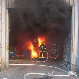 Požár ve firmě - jak to vše probíhalo?