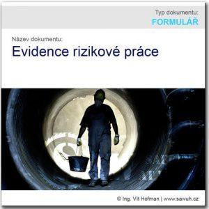Evidence rizikové práce