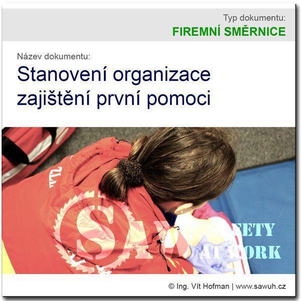Zabezpečení první pomoci ve firmě
