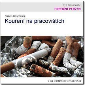 Pokyn: Kouření na pracovišti
