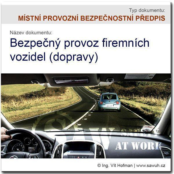 MPBP: Bezpečný provoz vozidel