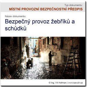 MPBP: Zásady bezpečného používání žebříků