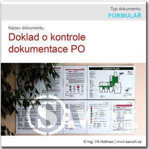 Doklad o kontrole dokumentace PO