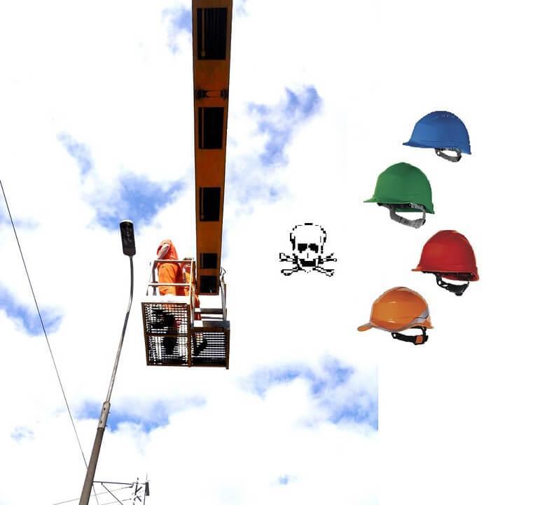 Jak vybrat přilbu pro práce ve výškách