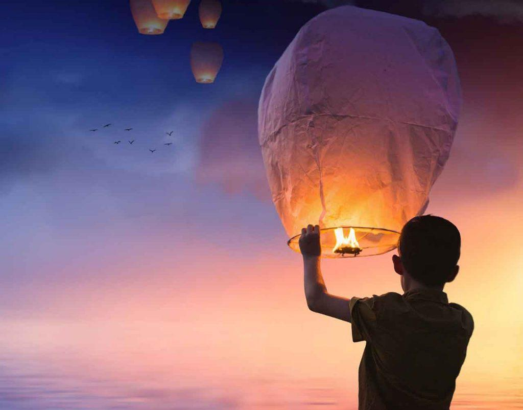 Lampiony štěstí