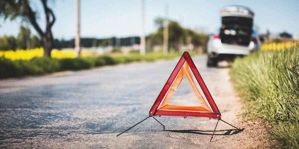 Výstražný trojúhelník se může hodit kdykoliv!