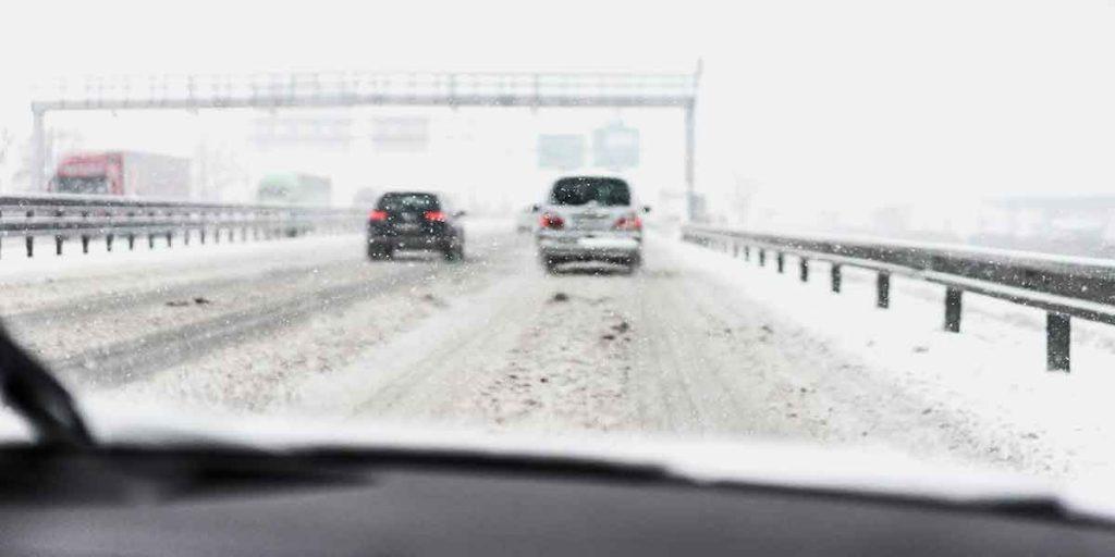 Sníh na vozovce